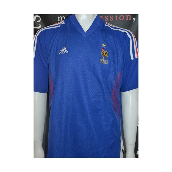 maillot france fff n 12 henry adidas taille xl argus foot sports. Black Bedroom Furniture Sets. Home Design Ideas