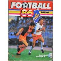 ALBUM PANINI FOOTBALL 86 en images COMPLET en BON ETAT