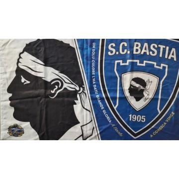Drapeau scb bastia finale coupe de la ligue 2015 argus foot sports - Coupe de la ligue finale 2015 ...