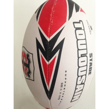 ballon rugby stade toulousain gilbert size 5 toulouse argus foot sports. Black Bedroom Furniture Sets. Home Design Ideas