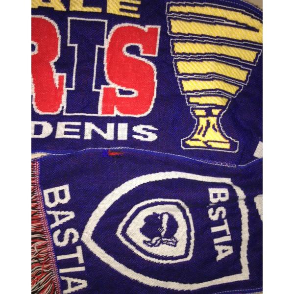Echarpe scb bastia paris psg la finale coupe de la ligue 2015 argus foot sports - Coupe de la ligue finale 2015 ...