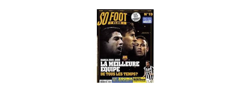 magazine foot enfant