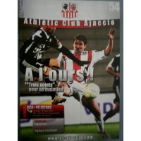 Fascicule Athlétic Club AJACCIO A L&#39OURS ACA ISTRES mars 2010