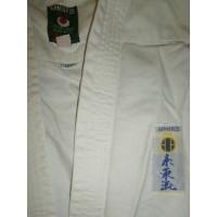 Kimono Occasion enfant blanc KAMIKAZE T.130cm JUE06