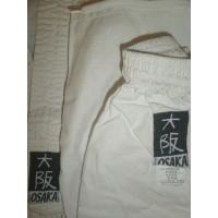 Kimono Occasion enfant blanc OSAKA T.110cm JUE09