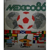ALBUM PANINI FOOTBALL WORLD CUP MEXICO 86 COMPLET