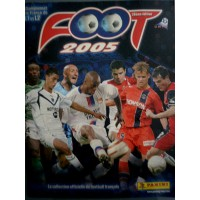 ALBUM PANINI FOOTBALL 2005 en images COMPLET en TBE