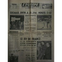 Journal l&#39Equipe 22° année N°6545 Jeudi 13 avril 1967