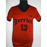Ancien Maillot Coupe de France PERRIER N°13 PUMA