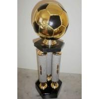 Coupe/trophée/récompense Football Métal Hauteur 47cm
