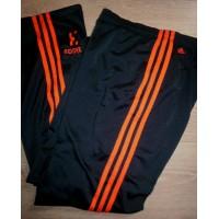 Pantalon Jogging 3 bandes oranges fluo ADIDAS N°3 taille 40