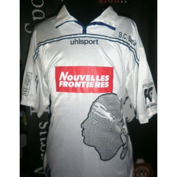 Maillot S.C.BASTIA 2001-02 Occasion taille XL COLLECTOR