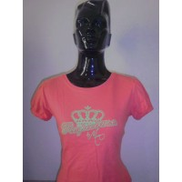 Tee shirt Femme REEBOK taille 40-42 couleur Grenat