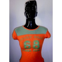 Tee shirt ADIDAS col V femme taille 40