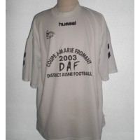 Maillot FFF District de l&#39AISNE N°8 HUMMEL 2003