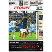 Journal l&#39Equipe 66° année N°20 946 Jeudi 17 Novembre 2011