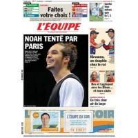 Journal l&#39Equipe 66° année N°21 010 Vendredi 20 janvier 2012