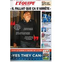 Journal l&#39Equipe 66° année N°21 017 Vendredi 27 janvier 2012