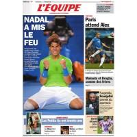 Journal l&#39Equipe 66° année N°21 003 Vendredi 13 janvier 2012