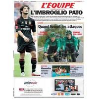 Journal l&#39Equipe 66° année N°21 024 Vendredi 3 fevrier 2012