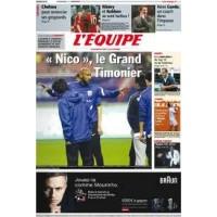 Journal l&#39Equipe 66° année N°20 995 Jeudi 5 janvier 2012