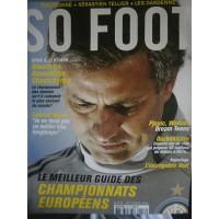 Magazine SO FOOT NUMERO 058: LE MEILLEUR DES CHAMPIONNATS