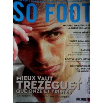Magazine SO FOOT NUMERO 081: MANCHESTER CITY