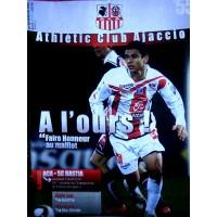 Fascicule Athlétic Club AJACCIO A L&#39OURS ACA BASTIA avril 201