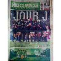 Journal du Rugby MIDI OLYMPIQUE 7 au 9 Septembre 2007 JOUR J