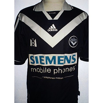 for whole family hot new products latest Maillot Girondins de Bordeaux F.C.G.B ADIDAS taille L N°9 LNF