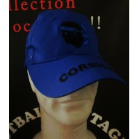 Casquette neuve bleu CORSICA taille adulte 59cm