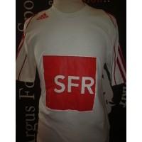 Maillot ADIDAS Coupe de FRANCE porté N°12 SFR taille S