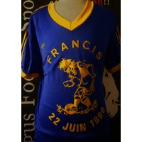Maillot ADIDAS porté N°13 FRANCIS 22 Juin 1990 taille XL