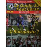 Guide du FOOT CORSE 2010/2011 18ème Année