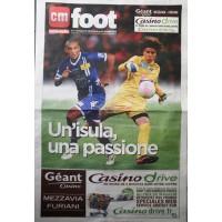 CM FOOT CORSE-MATIN N°01 Semaine du 18 au 24 octobre 2012
