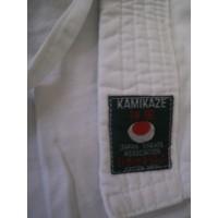 Kimono Occasion enfant blanc KAMIKAZE T.130 JUE29