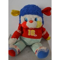 Peluche ancienne POPPLES  football americain N°16 collecter