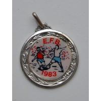 Médaille ancienne TOURNOI E.F.B 1983 Football CORSE