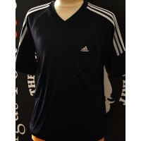 Maillot ADIDAS taille M  noir col V