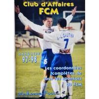 Annuaire 1997-98 ancien Club d&#39affaires FCM MULHOUSE-FOOT
