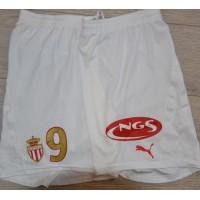 Shot ASM FC MONACO porté Jan Koller N°9 PUMA taille XXL