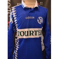 Maillot ancien RCS Strasbourg porté N°9 saison 1994-95 taille L