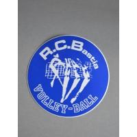 Ancien autocollant R.C.Bastia VOLLEY-BALL