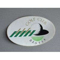 ancien autocollant GOLF CLUB BASTIA