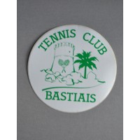 Ancien Autocollant TENNIS CLUB BASTIAIS