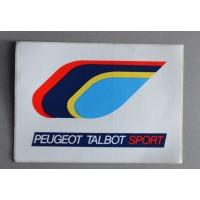 ancien Autocollant PEUGEOT TALBOT SPORT