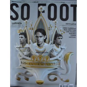 Magazine SO FOOT NUMERO 090 : 999 LES DERNIERS RENARDS