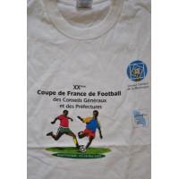Tee shirt Coupe de France des conseils généraux MARTINIQUE 2001