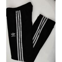 Pantalon Jogging ADIDAS Femme Taille 34 (XS) noir/bandes argents