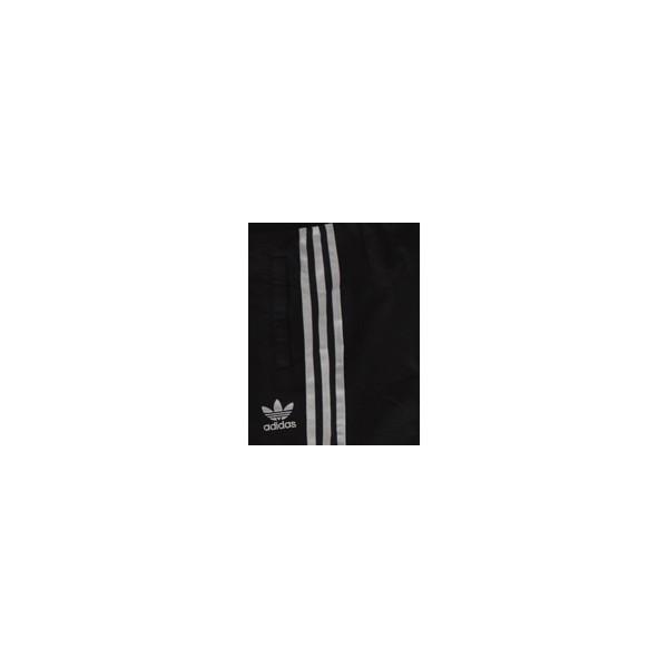 Pantalon Jogging ADIDAS Femme Taille 34 (XS) noirbandes argents